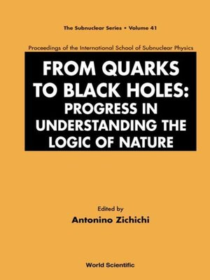 cover image of From Quarks to Black Holes