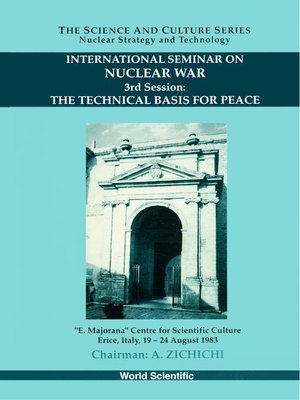 cover image of Technical Basis For Peace, The--Proceedings of the 3rd International Seminar On Nuclear War