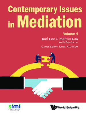 cover image of Contemporary Issues In Mediation--Volume 4