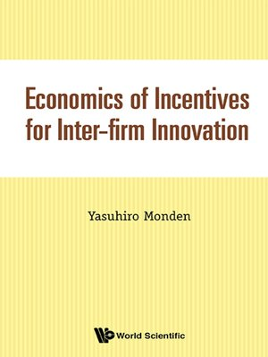 cover image of Economics of Incentives For Inter-firm Innovation