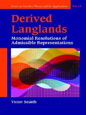 cover image of Derived Langlands