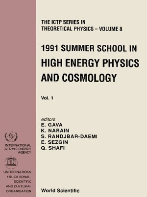 cover image of High Energy Physics and Cosmology--Proceedings of the 1991 Summer School (In 2 Volumes)