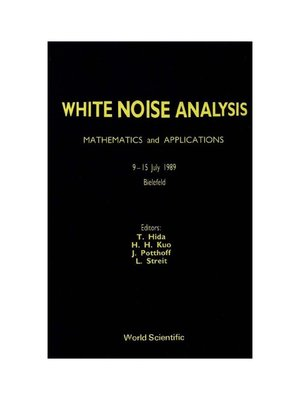 cover image of White Noise Analysis