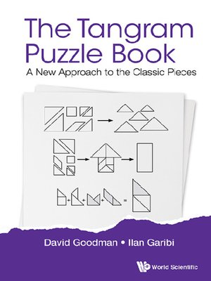 cover image of The Tangram Puzzle Book