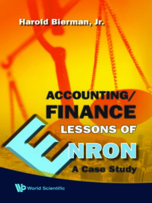 cover image of Accounting/finance Lessons of Enron