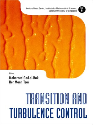 cover image of Transition and Turbulence Control