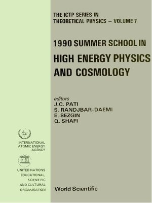 cover image of High Energy Physics and Cosmology--Proceedings of the 1990 Summer School