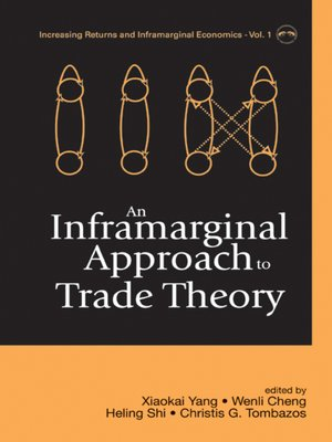 cover image of An Inframarginal Approach to Trade Theory