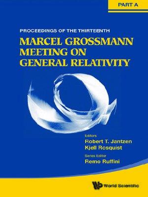 cover image of The Thirteenth Marcel Grossmann Meeting