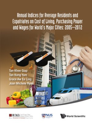 cover image of 2014 Annual Indices For Expatriates and Ordinary Residents On Cost of Living, Wages and Purchasing Power For World's Major Cities