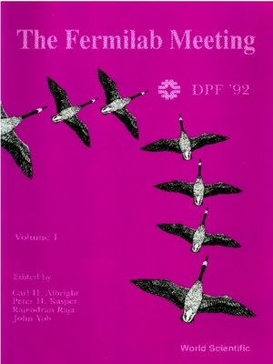 cover image of Fermilab Meeting (Dpf 92), The--Proceedings of the 7th Meeting of the Aps Division of Particles and Fields (In 2 Volumes)