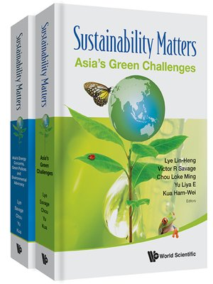 cover image of Sustainability Matters (In 2 Volumes)