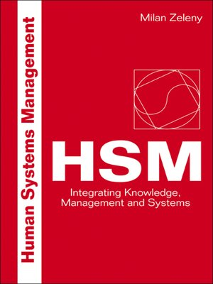 cover image of Human Systems Management