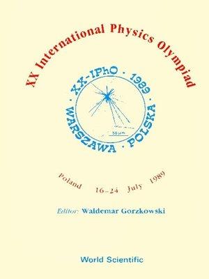 cover image of Xx International Physics Olympiad--Proceedings of the Xx International Physics