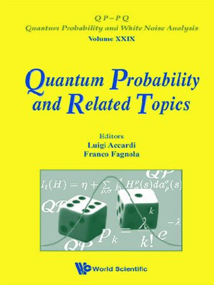 cover image of Quantum Probability and Related Topics--Proceedings of the 32nd Conference