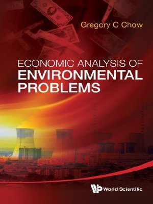 cover image of Economic Analysis of Environmental Problems