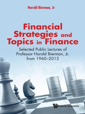 cover image of Financial Strategies and Topics In Finance