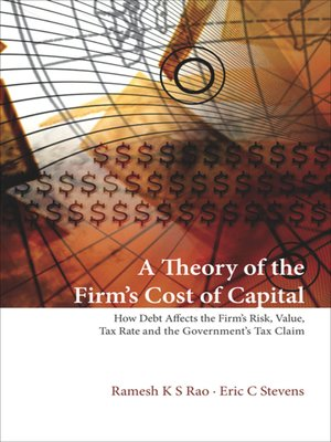cover image of A Theory of the Firm's Cost of Capital