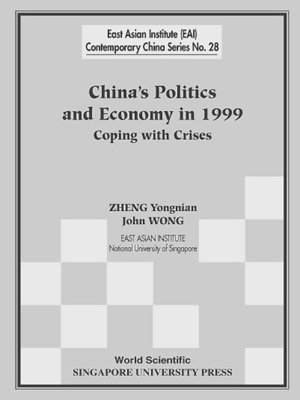 cover image of China's Politics and Economy In 1999