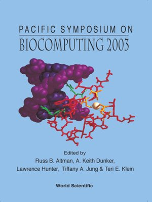 cover image of Biocomputing 2003--Proceedings of the Pacific Symposium
