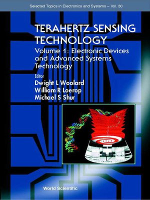 cover image of Terahertz Sensing Technology--Vol 1