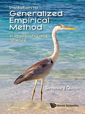 cover image of Invitation to Generalized Empirical Method