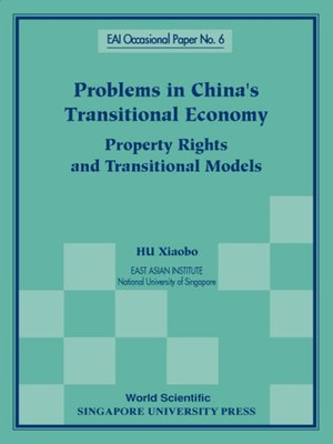 cover image of Problems In China's Transitional Economy