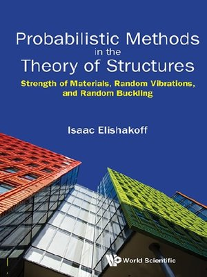 cover image of Probabilistic Methods In the Theory of Structures