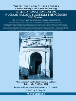 cover image of International Seminar On Nuclear War and Planetary Emergencies--31st Session
