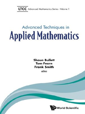 cover image of Advanced Techniques In Applied Mathematics