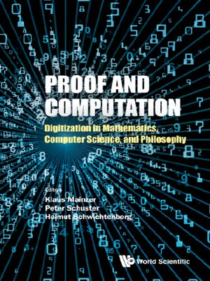 cover image of Proof and Computation