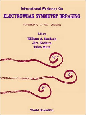 cover image of Electroweak Symmetry Breaking--Proceedings of the International Workshop