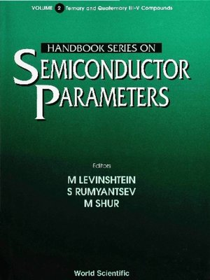 cover image of Handbook Series On Semiconductor Parameters, Volume 2