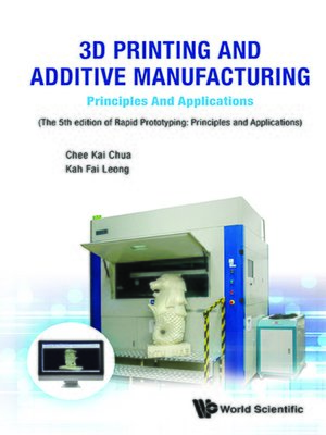cover image of 3d Printing and Additive Manufacturing