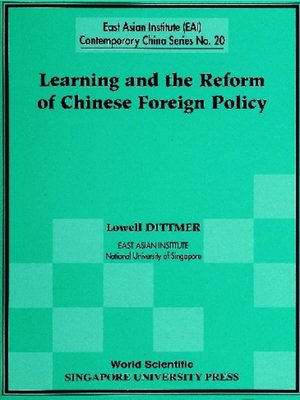 cover image of Learning and the Reform of Chinese Foreign Policy