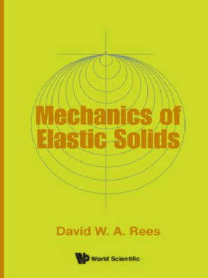 cover image of Mechanics of Elastic Solids