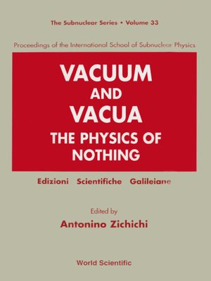 cover image of Vacuum and Vacua