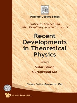 cover image of Recent Developments In Theoretical Physics