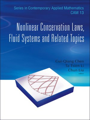 cover image of Nonlinear Conservation Laws, Fluid Systems and Related Topics