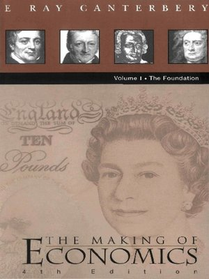 cover image of Making of Economics, the ()--Vol I