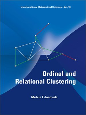 cover image of Ordinal and Relational Clustering