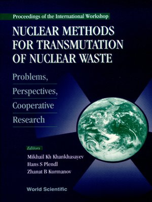 cover image of Nuclear Methods For Transmutation of Nuclear Waste