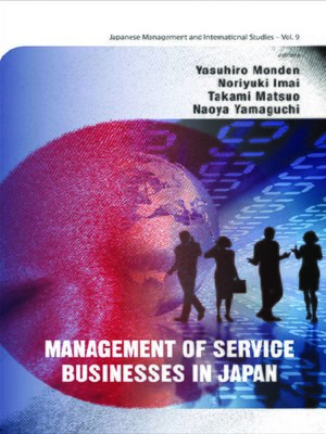 cover image of Management of Service Businesses In Japan