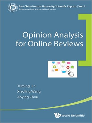 cover image of Opinion Analysis For Online Reviews