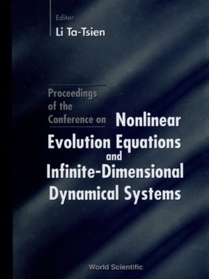 cover image of Nonlinear Evolution Equations and Infinite Dimensional Dynamical Systems--Proceedings of the Conference