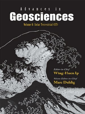 cover image of Advances In Geosciences (A 4-volume Set)--Volume 8