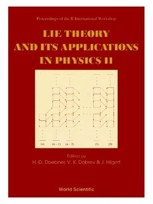 cover image of Lie Theory and Its Applications In Physics Ii--Proceedings of the Ii International Workshop