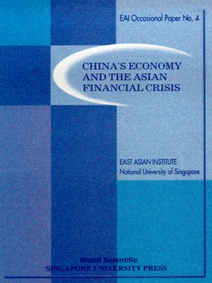 cover image of China's Economy and the Asian Financial Crisis