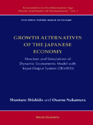 cover image of Growth Alternatives of the Japanese Economy
