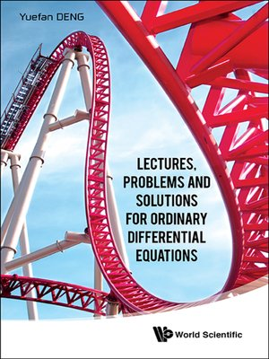 cover image of Lectures, Problems and Solutions For Ordinary Differential Equations